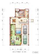 绿地澜庭300平方米户型图