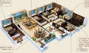 颐和山庄6室3厅3卫314平方米户型图