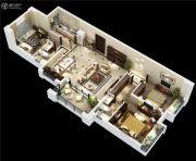 碧桂园剑桥郡3室2厅2卫129平方米户型图