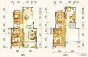万达西双版纳国际度假区4室3厅3卫191平方米户型图