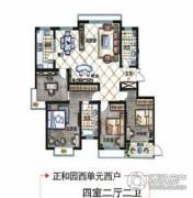 德居一品4室2厅2卫0平方米户型图