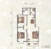 东苑小区2室2厅1卫91平方米户型图