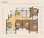 南方梅园4室2厅2卫196--197平方米户型图