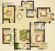 海门中南世纪城4室2厅2卫0平方米户型图