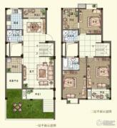 观山名筑3室2厅3卫152平方米户型图