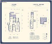 阳光揽胜4室3厅3卫229平方米户型图
