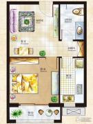 丁豪广场1室1厅1卫0平方米户型图