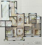中梁・首府壹号4室2厅2卫142平方米户型图