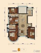 东湖湾4室2厅2卫240平方米户型图