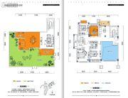 金牛国际社区4室3厅3卫227平方米户型图