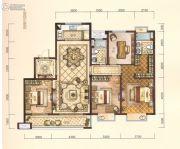 中梁・悦荣府4室2厅2卫142平方米户型图
