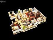 金丽园5室2厅2卫163平方米户型图