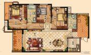 充耀盛荟3室2厅2卫133平方米户型图