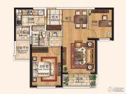仁恒西郊花园2室1厅1卫0平方米户型图