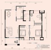梧桐邑・九棠府3室2厅1卫97平方米户型图