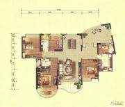 合生紫��府5室2厅3卫186平方米户型图