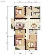 山海城邦・马街摩尔城4室2厅2卫171平方米户型图