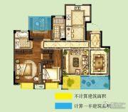 世茂招商语山3室2厅2卫108平方米户型图