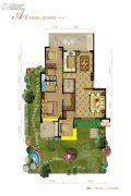 保利・心语花园0室0厅0卫141平方米户型图