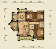 泰基巴黎春天3室2厅2卫101平方米户型图
