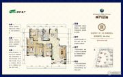 淮矿东方蓝海4室2厅3卫193--197平方米户型图