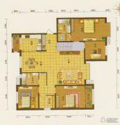 新城・月亮湾5室2厅2卫184平方米户型图