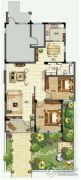 青建香根四季2室2厅1卫101平方米户型图