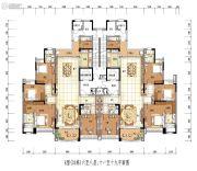 雅居乐白鹭湖5室2厅2卫0平方米户型图