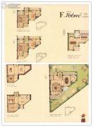 华鸿・艺墅4室3厅4卫166平方米户型图