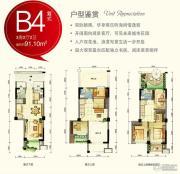 金帝・中洲滨海城3室2厅1卫0平方米户型图