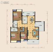 南方梅园3室2厅2卫157--161平方米户型图