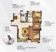 阳光100国际新城3室2厅1卫92平方米户型图