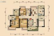 国鹏・润德学府3室2厅2卫112平方米户型图