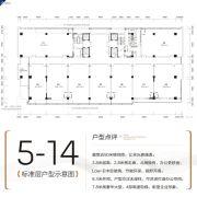 银河城市科技产业城3室2厅2卫151--341平方米户型图