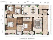 西溪十九府4室2厅3卫0平方米户型图