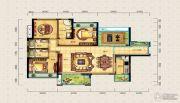 宝安・山水龙城3室2厅3卫128平方米户型图