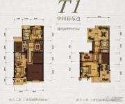 保利天骄253平方米户型图