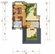 绿地城1室1厅1卫200平方米户型图