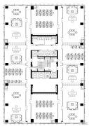 金融城1室1厅1卫0平方米户型图