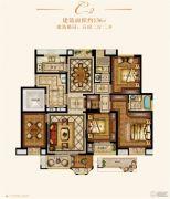 金城豪庭5室2厅2卫136平方米户型图