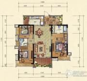 鼎峰尚境3室2厅2卫0平方米户型图