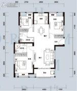天汇龙城3室2厅2卫116--119平方米户型图