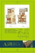叶与城5室2厅2卫158平方米户型图