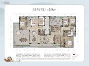 和家园・雍园5室3厅3卫0平方米户型图