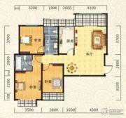 海德公园3室2厅2卫119平方米户型图