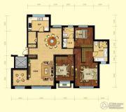 金域明珠3室2厅2卫149平方米户型图