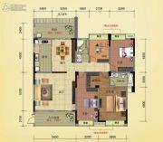 榕江明珠4室2厅2卫187平方米户型图