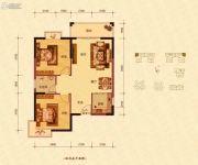 蓝海名都2室2厅1卫86--88平方米户型图