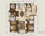 保利东郡5室2厅3卫190平方米户型图
