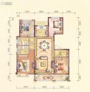 黄岩中梁香缇公馆4室2厅2卫142平方米户型图